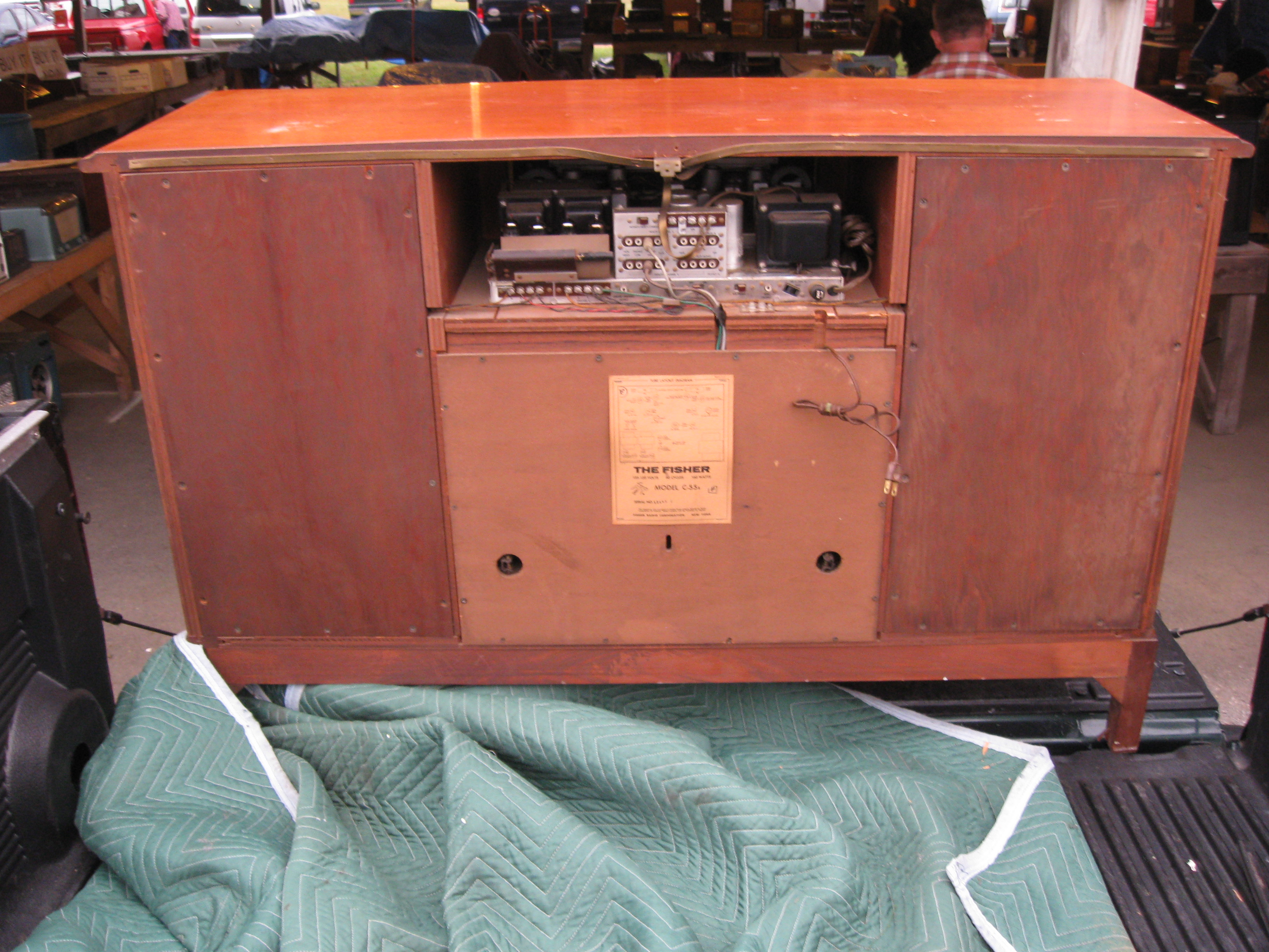 fisher coronet c-55 console