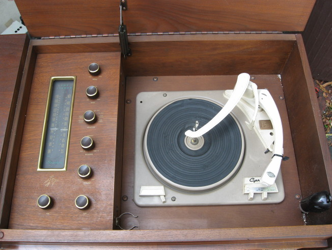 fisher custom electra iv turntable
