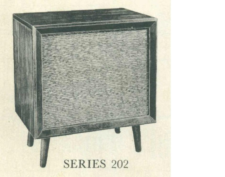 1955 Fisher Series 202 Console