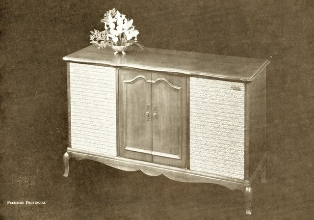 Fisher Premiere Provincial Console