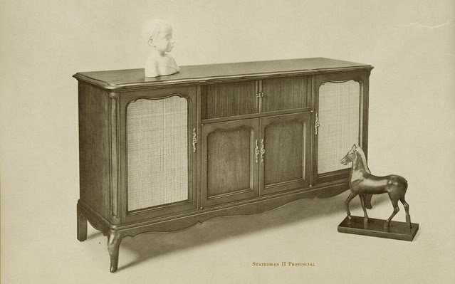 Fisher Statesman II Provincial Console