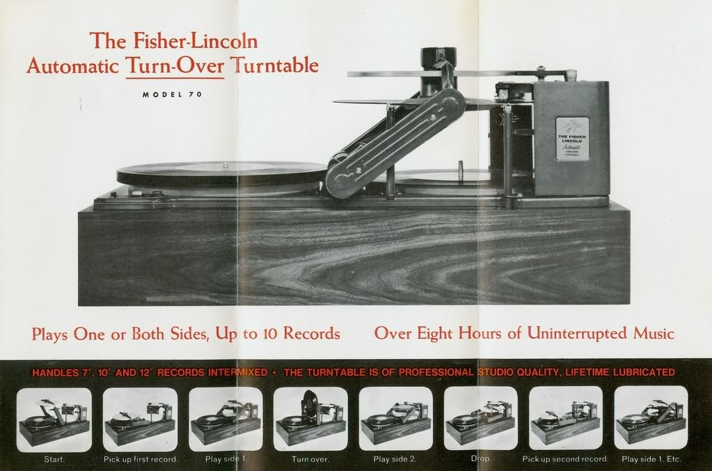 Fisher Lincoln Turntable Chatham