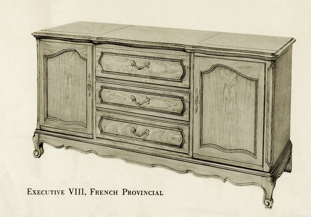 Fisher Executive VIII French Provencial Console