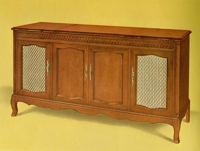 Fisher Ambassador VI French Provincial Console
