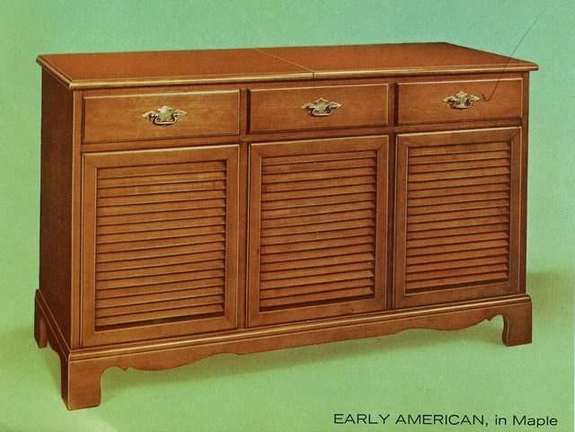 Fisher Custom Electra VII Early American Console