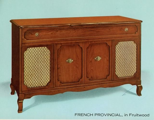 Fisher Custom Electra /VII French Provincial Console