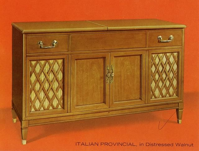 Fisher Custom Electra VII Italian Provincial Console