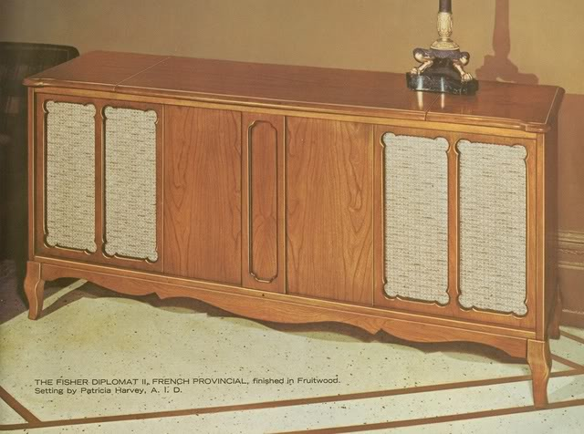Fisher Diplomat II French Provincial Console