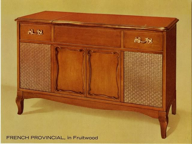Fisher Philharmonic IV French Provincial Console