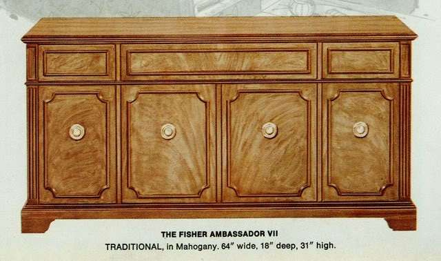 Fisher Ambassador VII Traditional Console