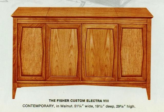 Fisher Custom Electra VIII Contemporary Console