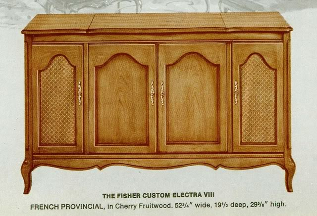 Fisher Custom Electra VIII French Provincial Console