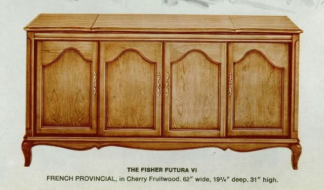 Fisher Futura VI French Provincial Console
