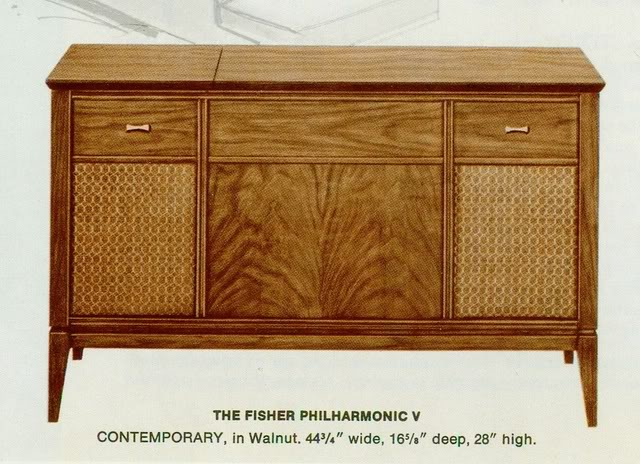 Fisher Philharmonic V Contemporary Console