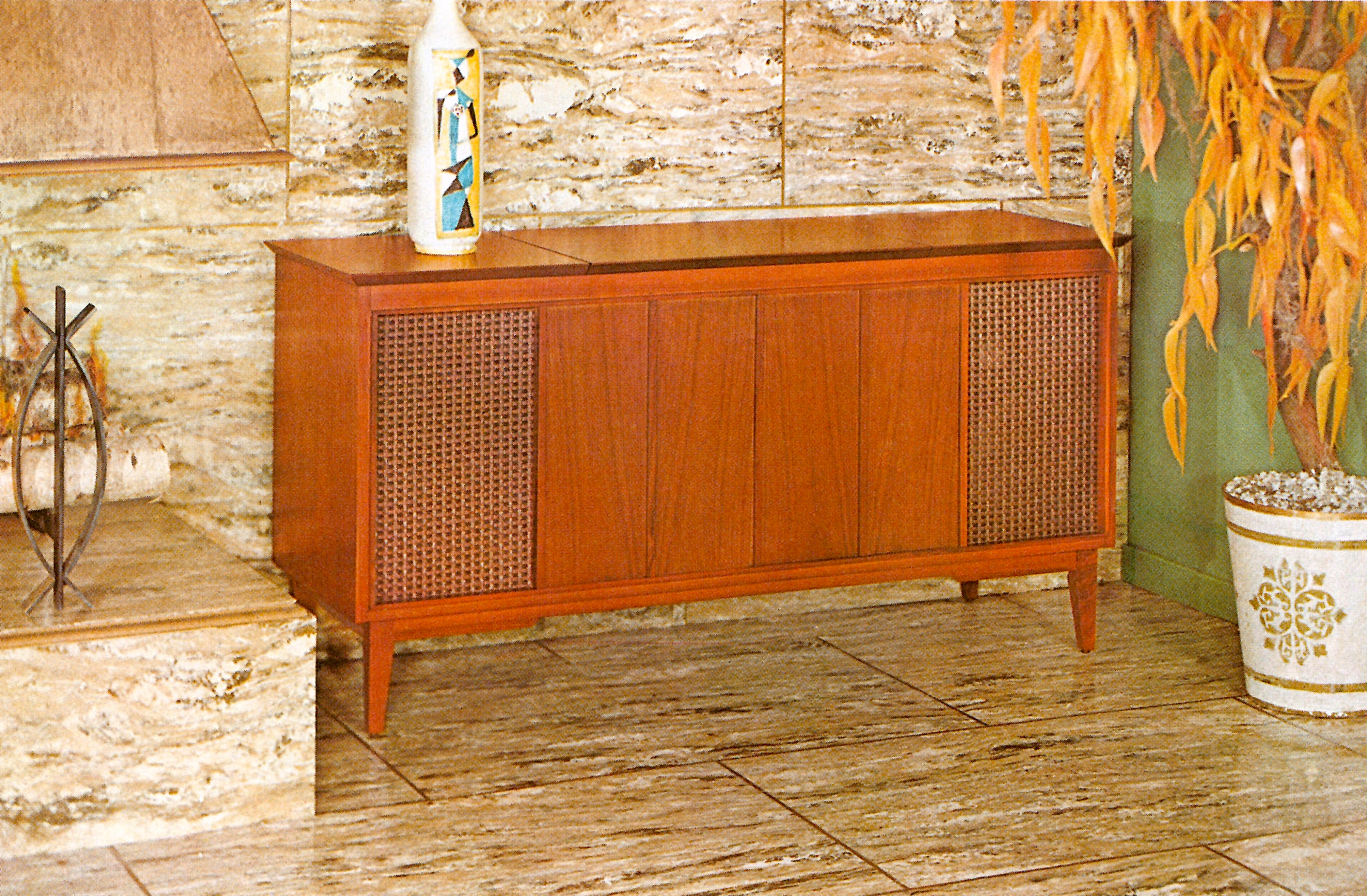 1966 Fisher D-391-W Diplomat Contemporary Console