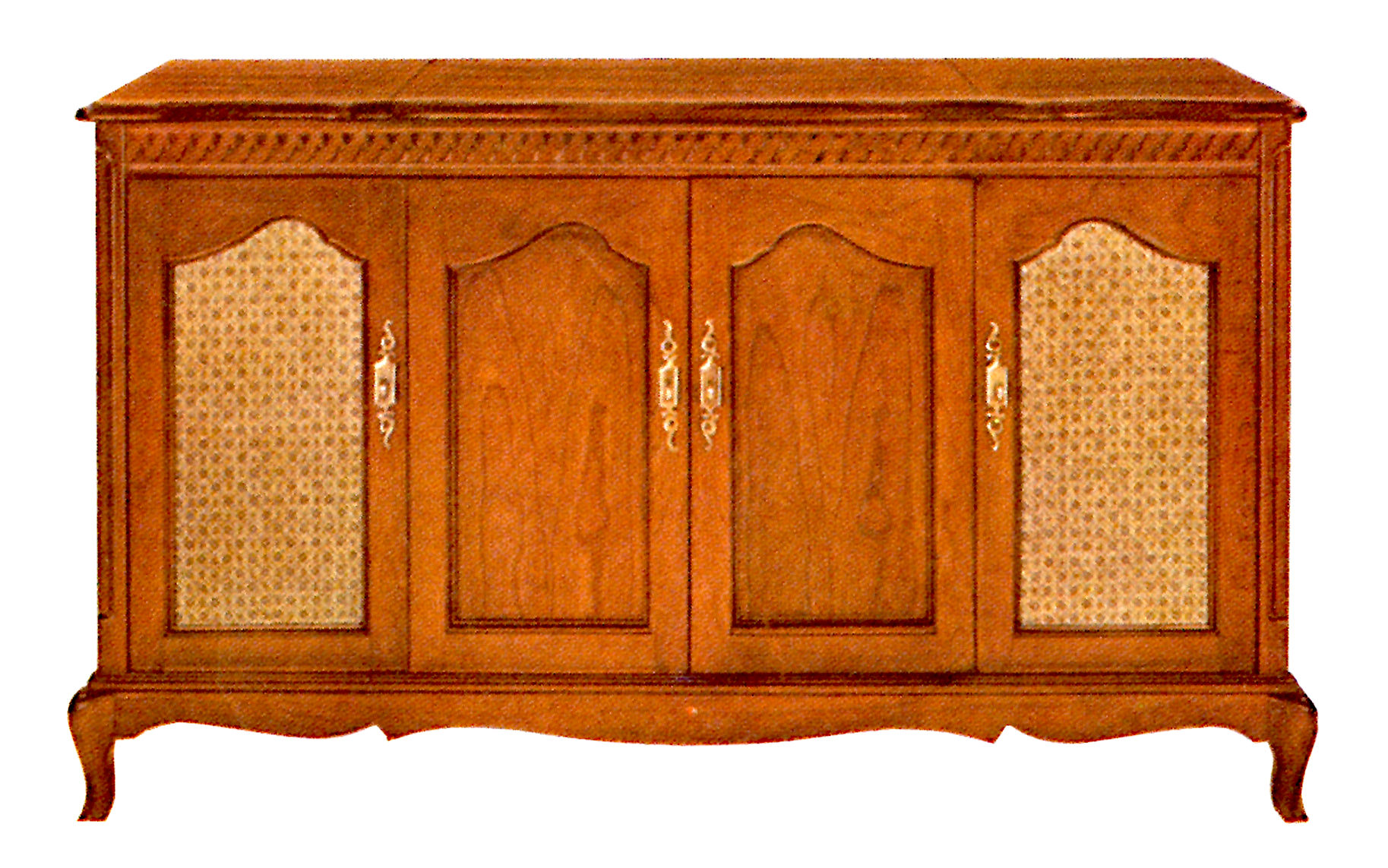 1966 Fisher E-491-FP Custom Electra French Provincial Console