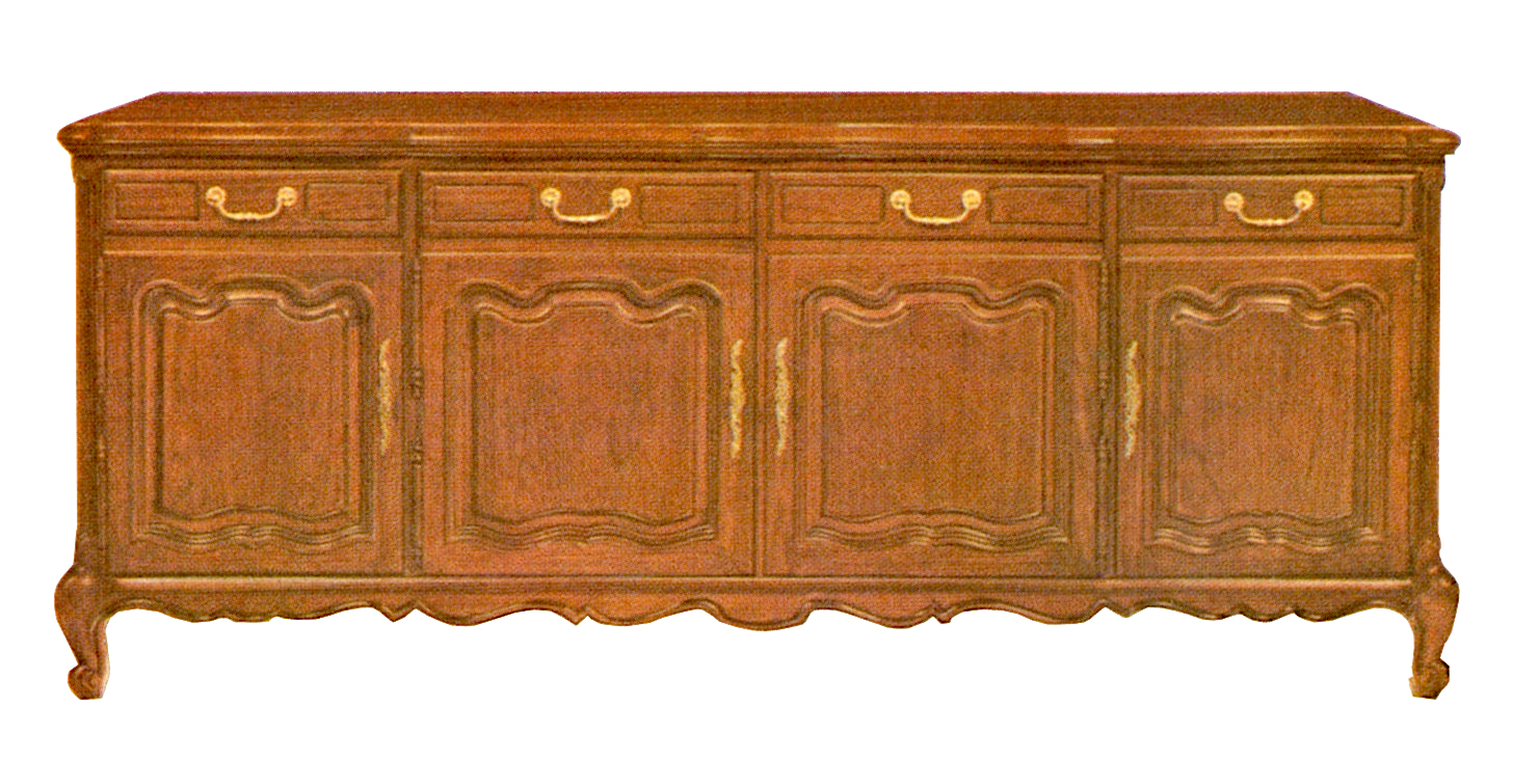 1966 Fisher 9011-P President French Provincial Console