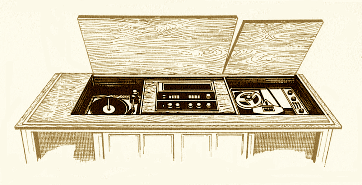 1967 Fisher 972 Executive Console