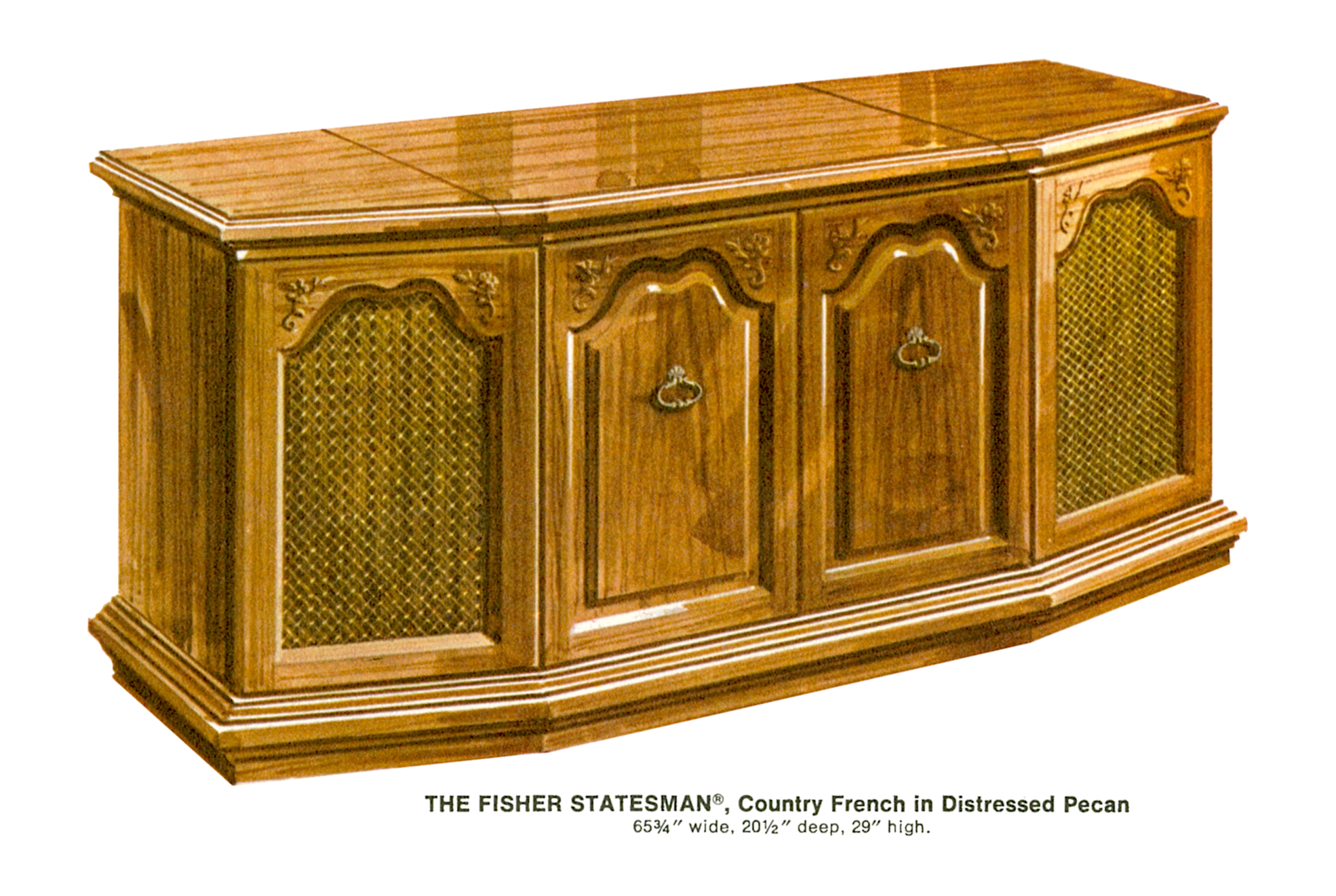 1967 Fisher S-692CF Statesman Country French Console