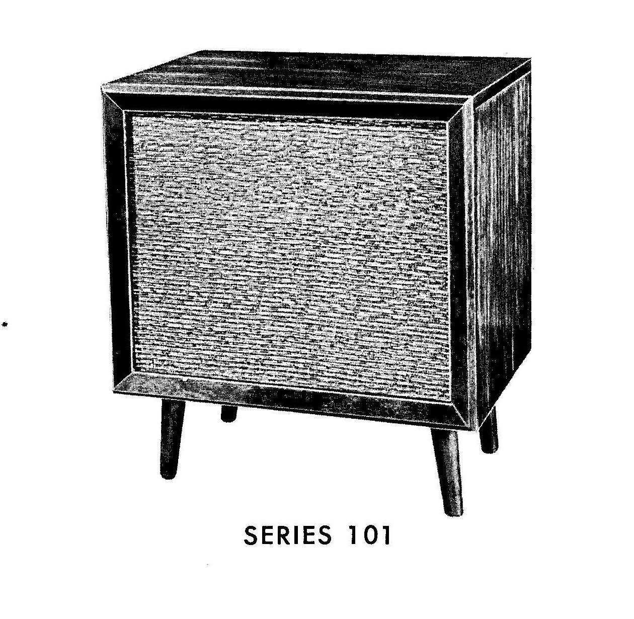 fisher series 101 console