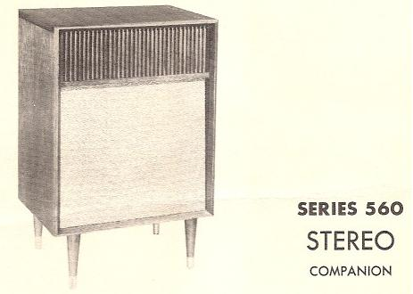 Fisher Series 560 Stereo Companion