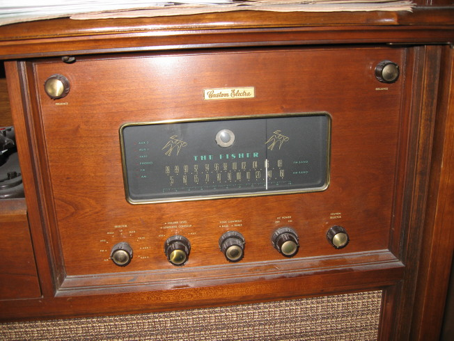 Fisher Custom Electra II Console Radio